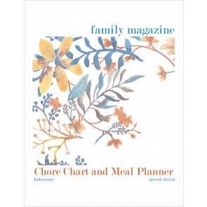 Free Menu Planner & Chore Chart Printables