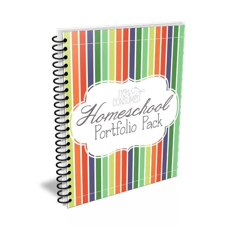 Homeschool Portfolio Printable Pack Only $15 - Limited Time!