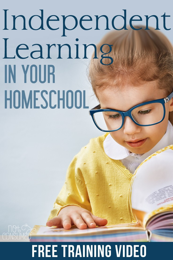 FREE Independent Learning in Homeschool Webinar