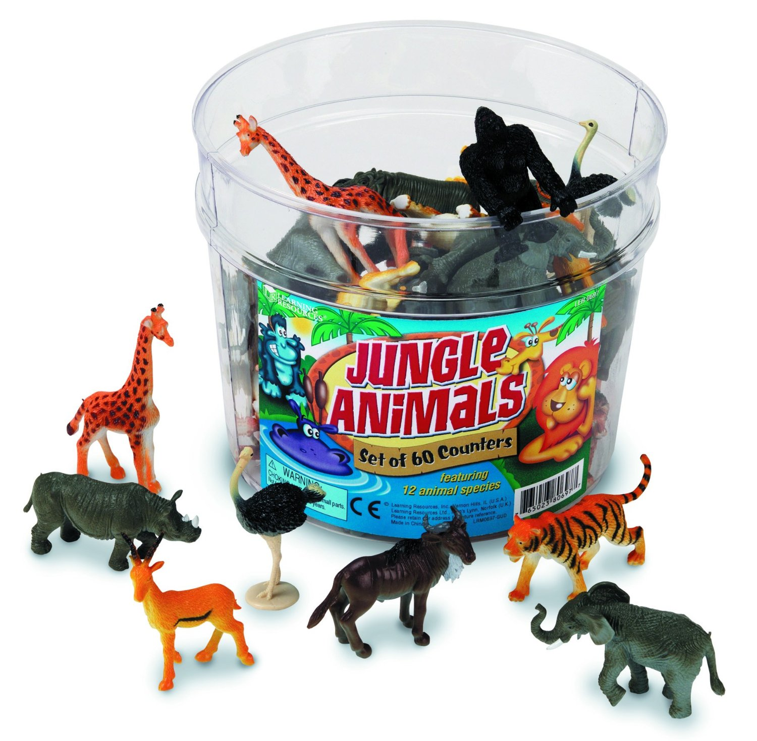 Learning Resources Jungle Animals Set Only $15! (Reg. $25!)