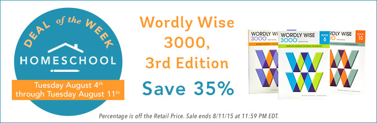 35% Off Wordly Wise 300 Curriculum