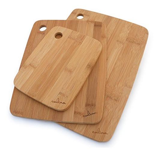Culina Bamboo Cutting Board Set Only $12.68! (Reg. $50!)