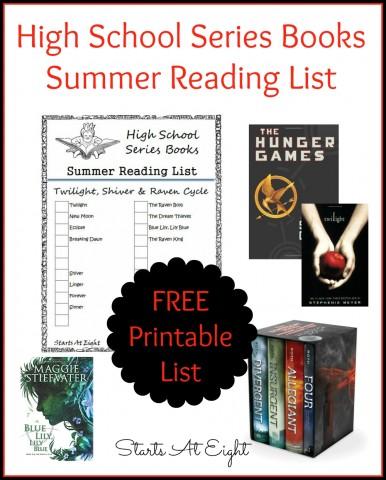 FREE Summer Reading List