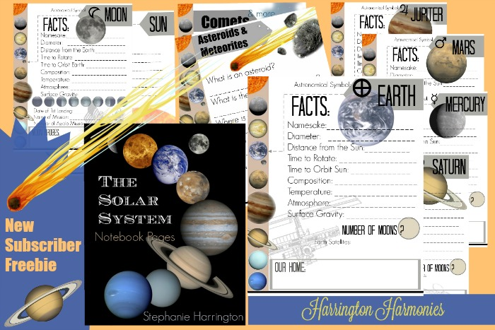 FREE Solar System Pages