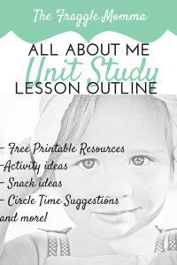 Preschool Unit Study