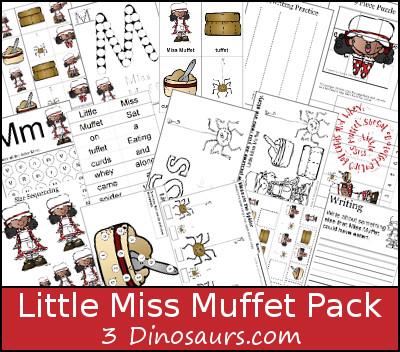 FREE Little Miss Muffet Pack
