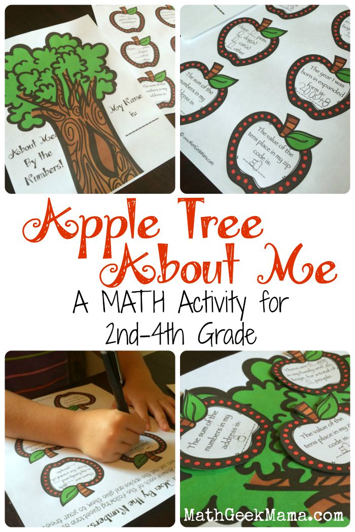 FREE All About Me Math