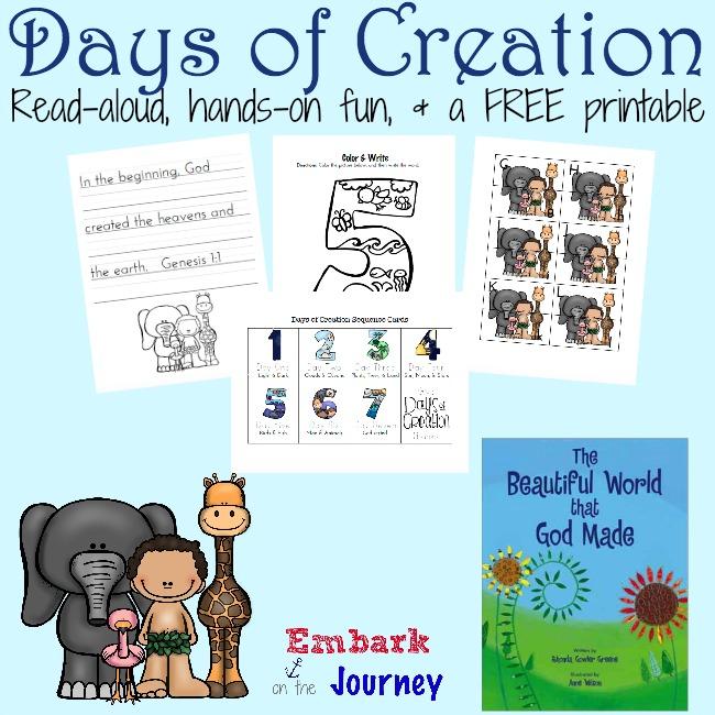 FREE Days of Creation