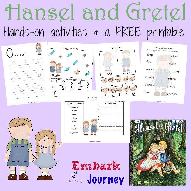 FREE Hansel and Gretel Printables