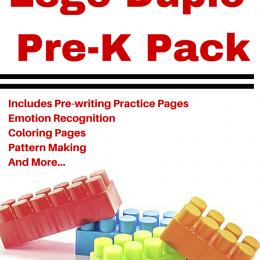 FREE PreK Lego pack