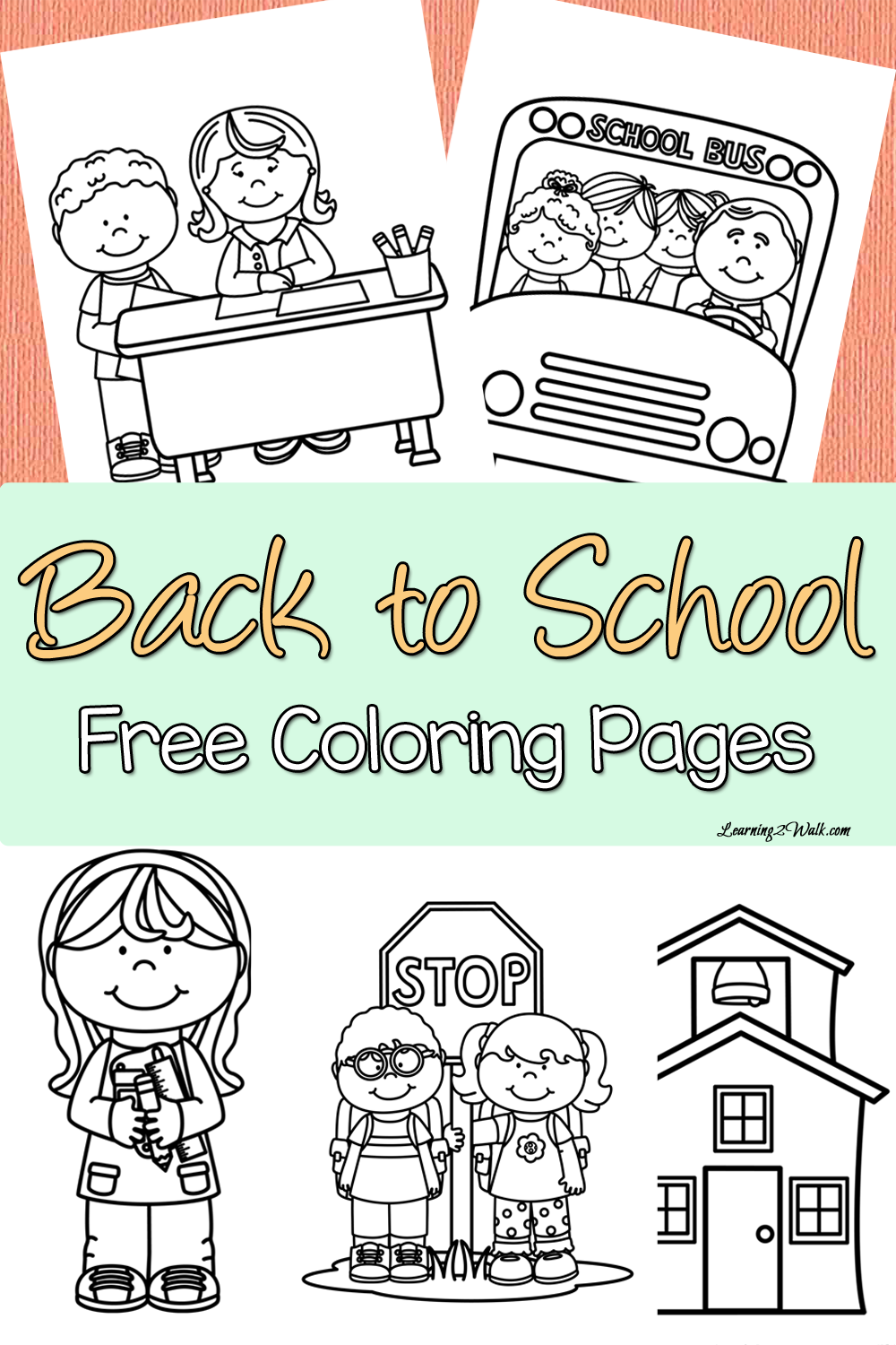 It is a photo of Ambitious Welcome To Preschool Coloring Page