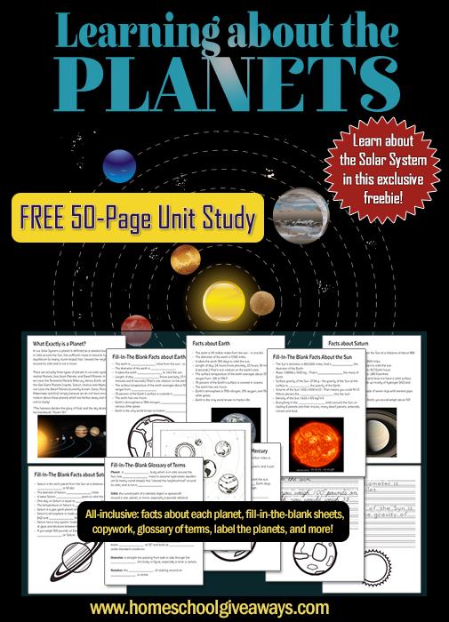 FREE Planets Study