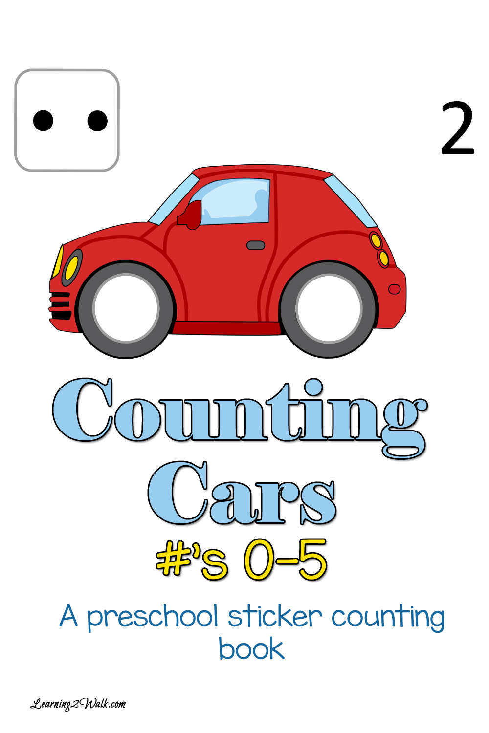FREE Counting Cars Printable