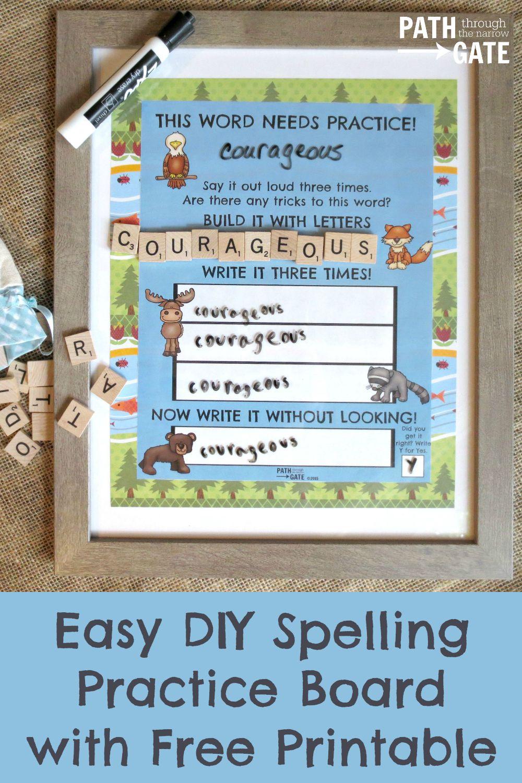 FREE Spelling Practice