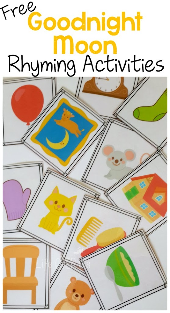 FREE Goodnight Moon Activity