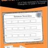 FREE Sentence Scramble Worksheets