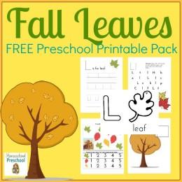 FREE Fall Leaves Printables