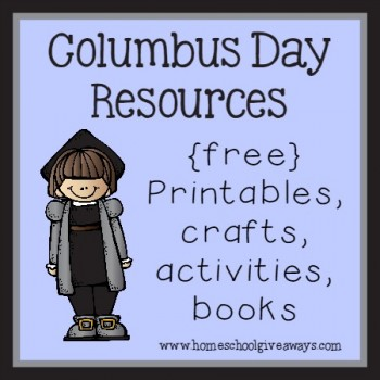 Learn all about Columbus with these FREE Columbus Day Resources! #fhdhomeschoolers #freehomeschooldeals #columbusdayresources #hsmoms #hsfreebies