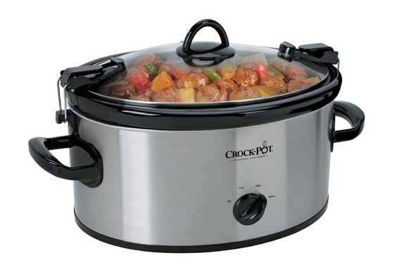 Crock Pot 6 Quart Slow Cooker Only $24! (Reg. $50!)