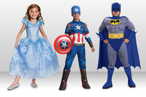 50% Off Children's Costumes - Today Only!