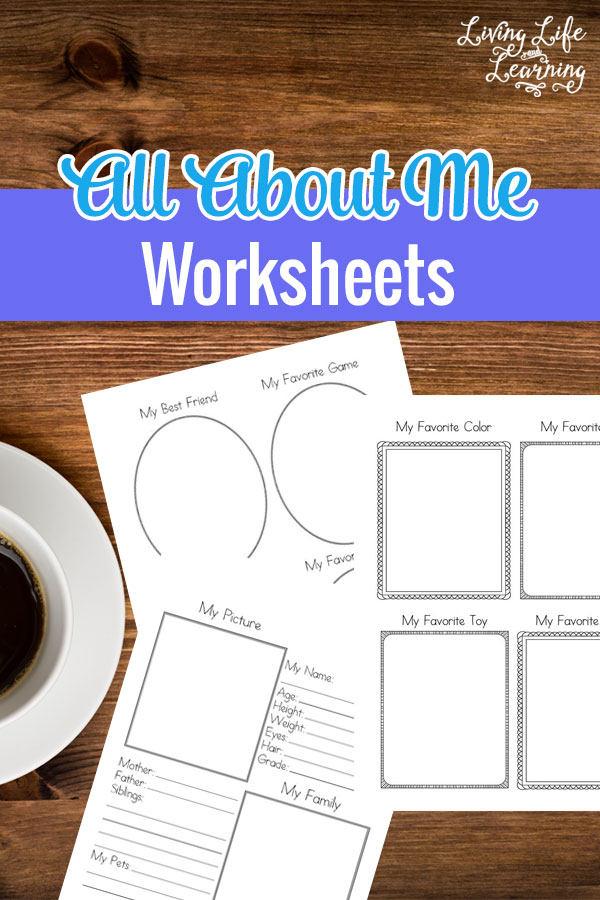 FREE All About Me Worksheet Pack