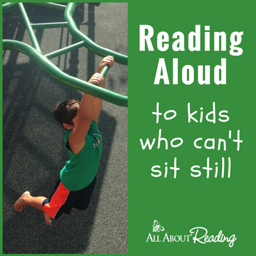 Tips for Reading Aloud to Wiggly Children
