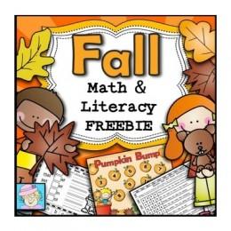 Free Fall Math & Literacy Printable Pack