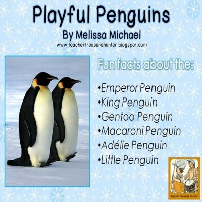 Free Penguin Writing Unit