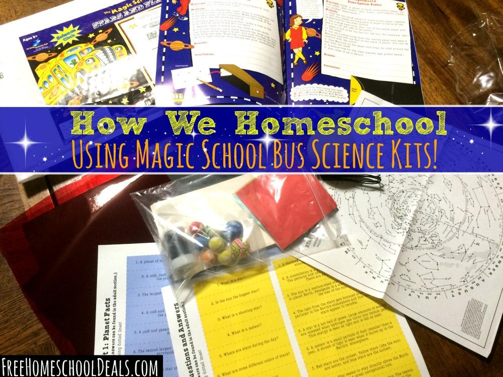 How We Homeschool Using Magic School Bus Science