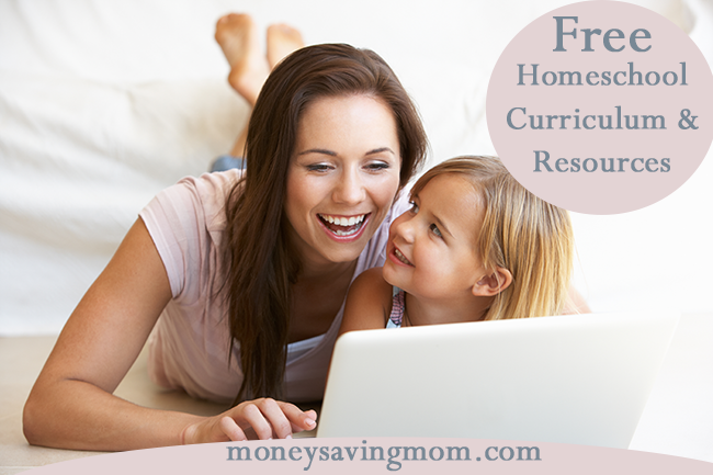 Free Homeschool Curriculum and Resources Money Saving Mom