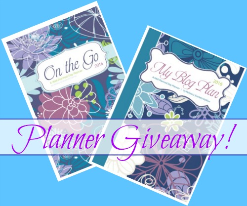 Planner Giveaway