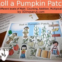 FREE Pumpkin Math Game