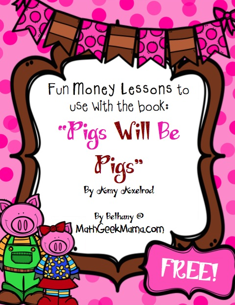 FREE Pigs Will Be Pigs printables