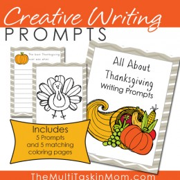 FREE Thanksgiving Prompts