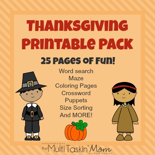FREE Thanksgiving Pack