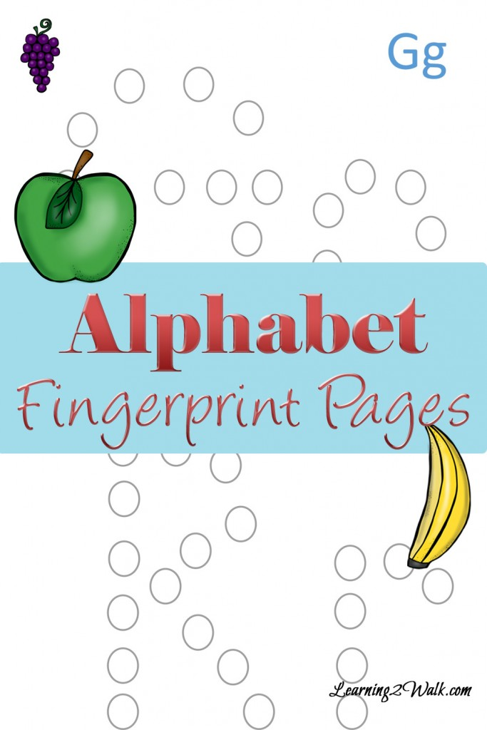 FREE Alphabet Pages