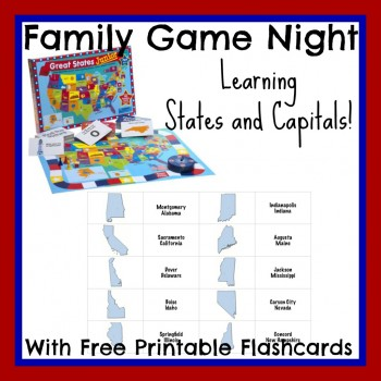 FREE States and Capitals Game