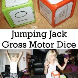 FREE Jumping Jack Dice Game Printables
