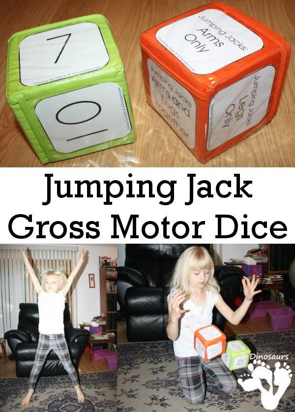 FREE Jumping Jack Dice