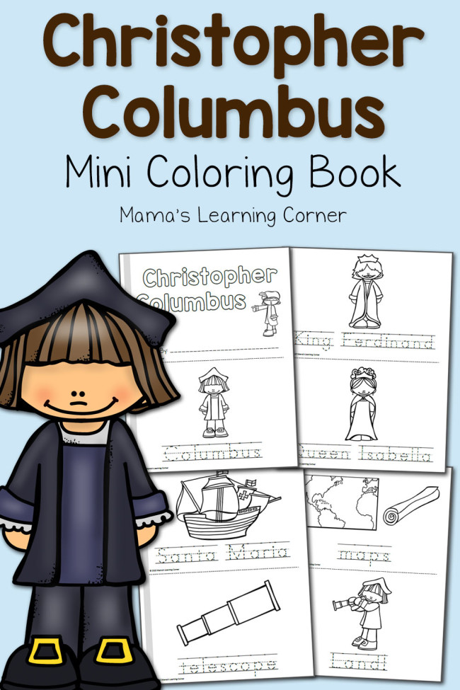 Printable Worksheets free columbus day worksheets : FREE Christopher Columbus Coloring Pages | Free Homeschool Deals ©