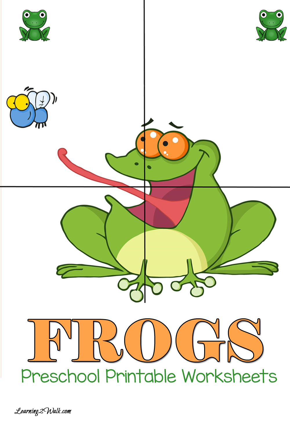FREE Frogs Printables