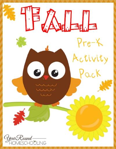 FREE Fall PreK Pack