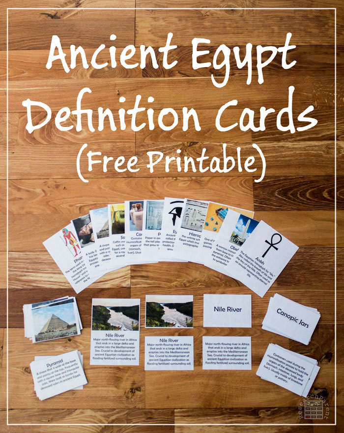 FREE Egypt Cards