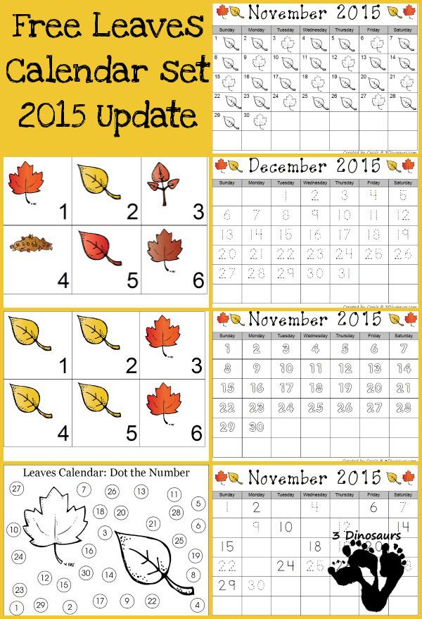FREE Calendar Set
