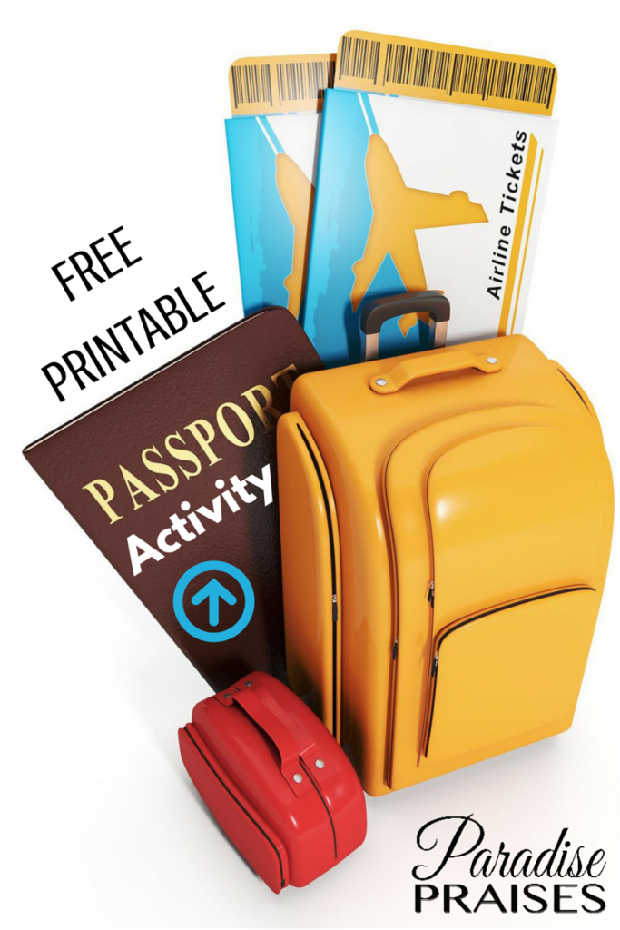 FREE Passport Activity