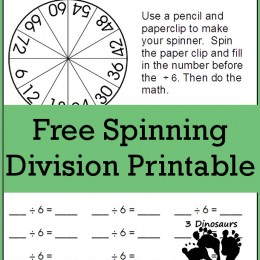 FREE Division Spinning Game