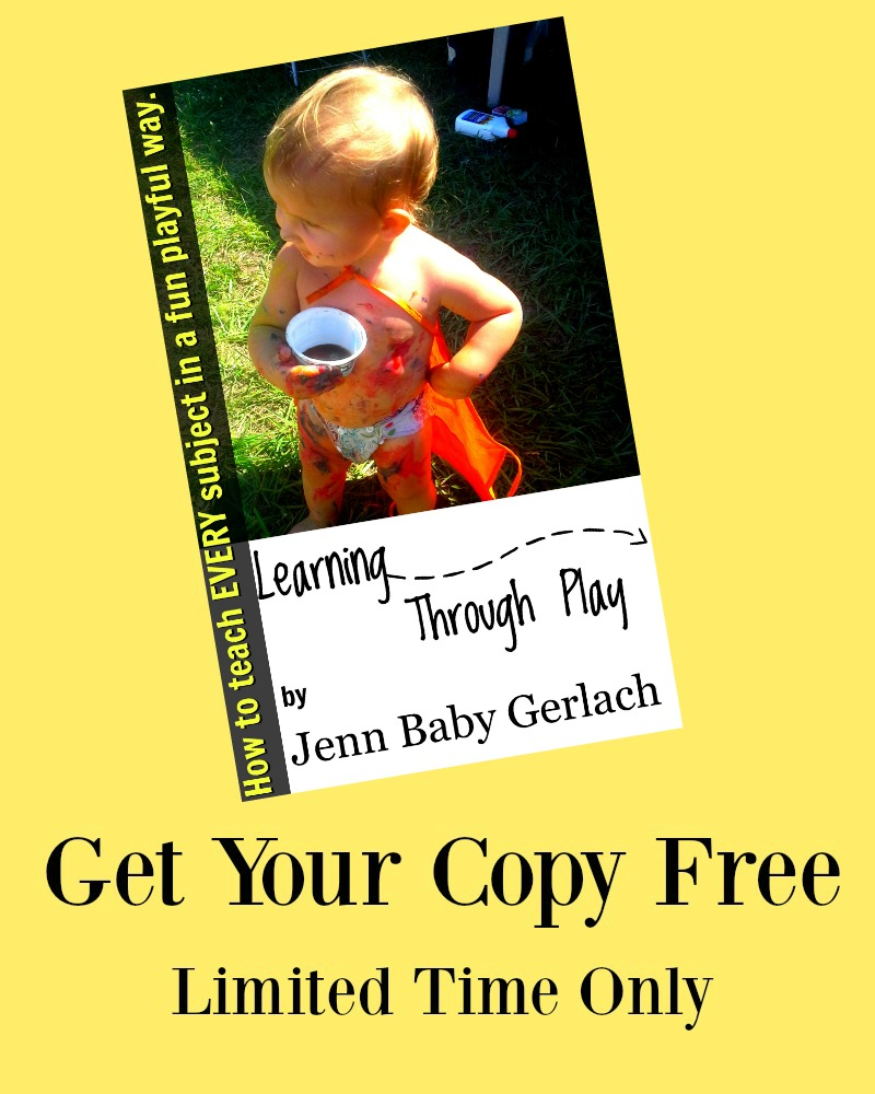 FREE Learning Through Play eBook