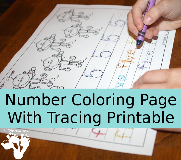 FREE Coloring Tracing Book