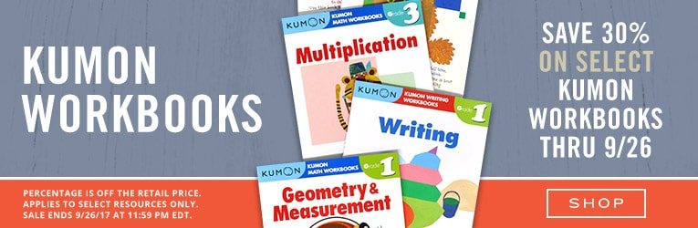 30% Off Kumon Educational Activity Books