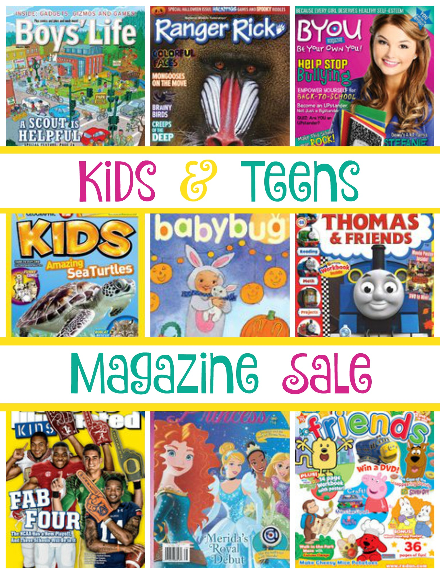 Kids & Teens Magazine Sale - Limited Time!